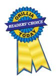 Orilla Reader's Choice Award